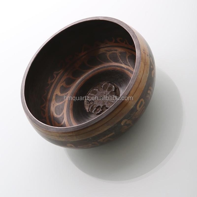 Hm Wholesale Tibetan Buddhist Singing Bowl For Meditation