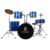 HEBIKUO Wholesale adult children drum set for beginner professional playing jazz drums percussion instruments