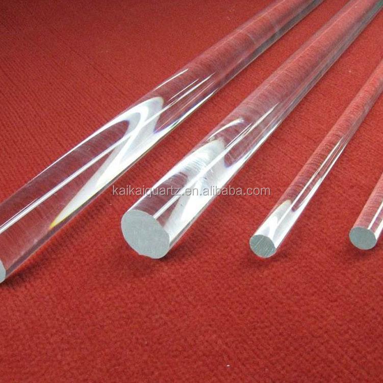 OD 3mm clear quartz crystal rod