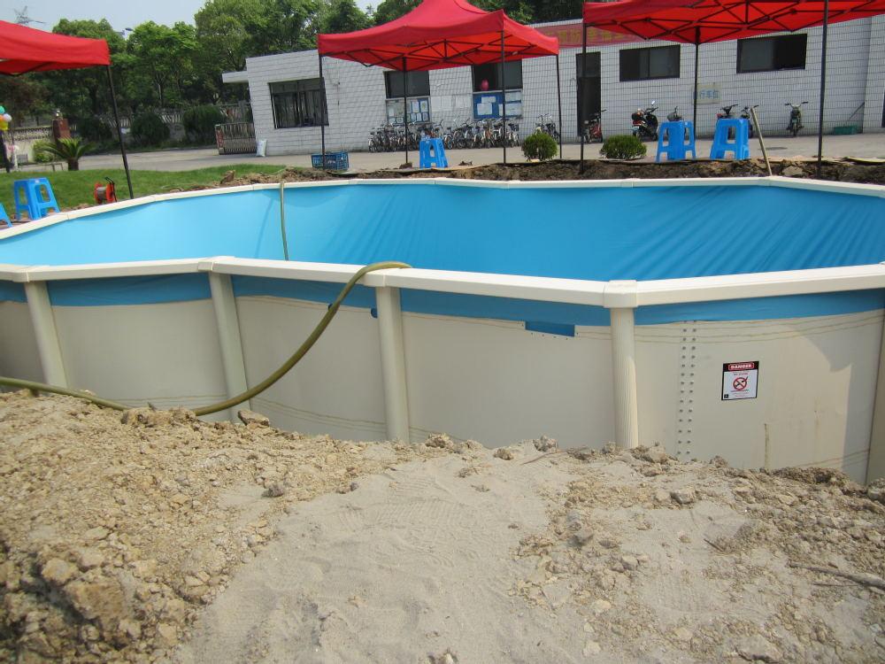 petite piscine en plastique dur piscine plastique rigide. Black Bedroom Furniture Sets. Home Design Ideas
