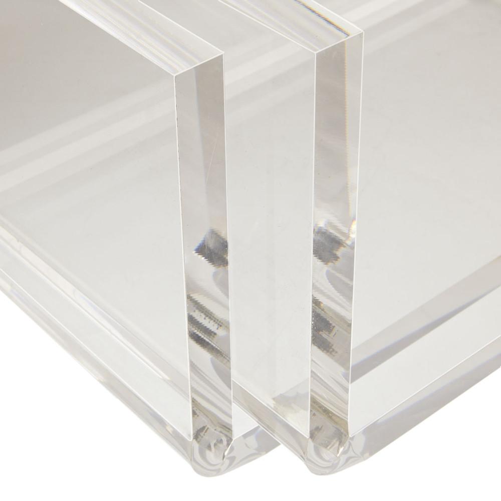 Оптовая продажа, дешевые прозрачные пластиковые акриловые подставки для книг