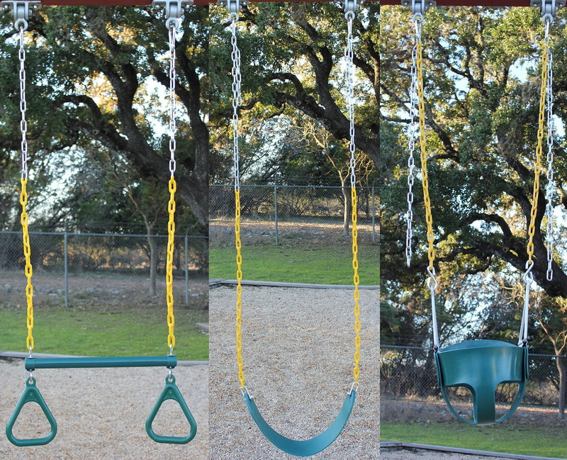 Heavy Duty Swing Hangers Playground Porch Yoga Seat Trapeze Wooden Sets 1 Pack