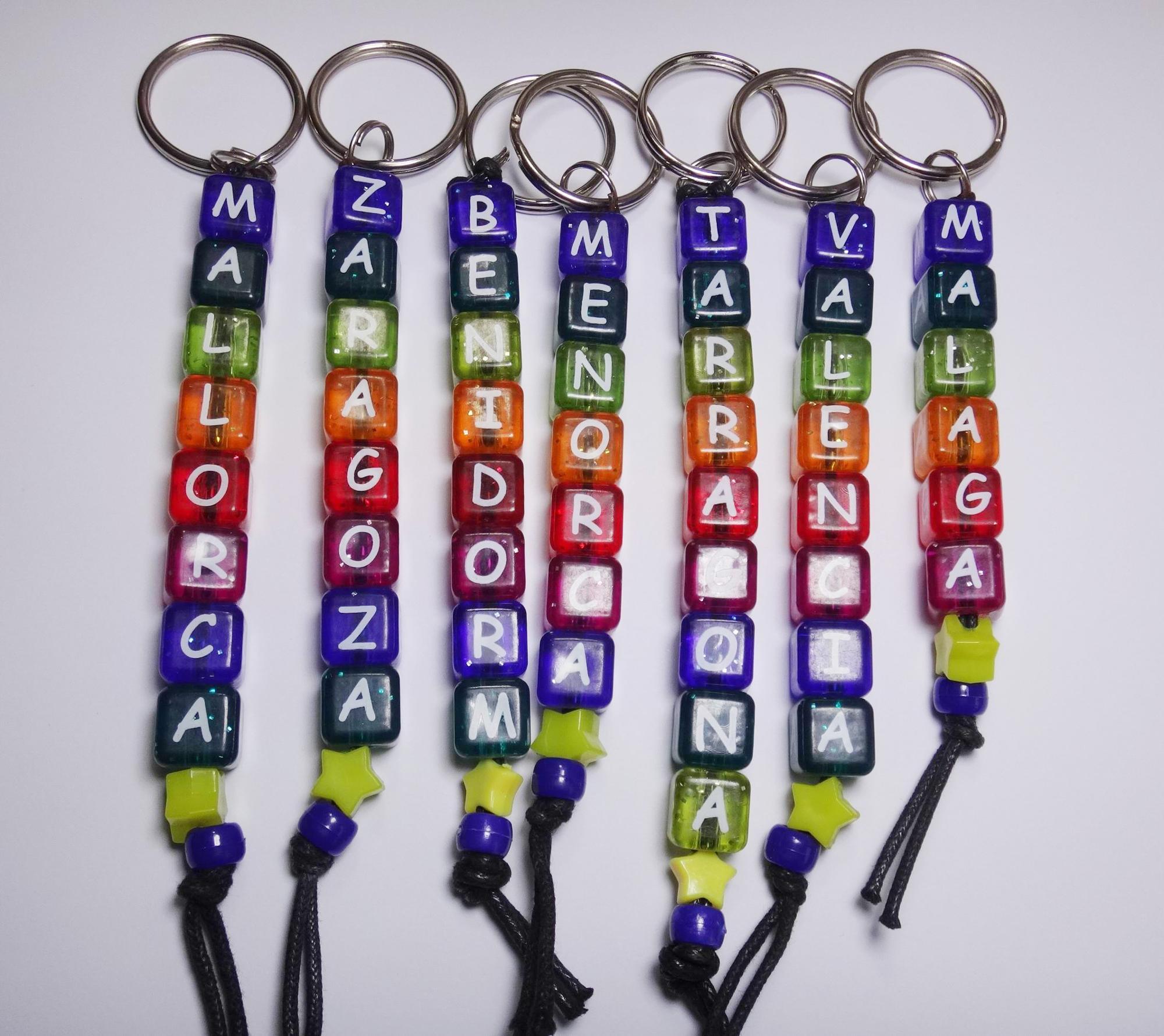 Beaded Keychain Keychain