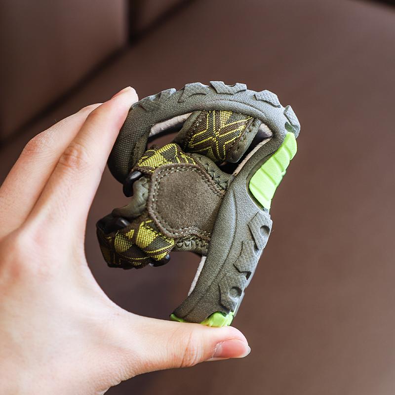 Детские летние уличные сандалии для мальчиков