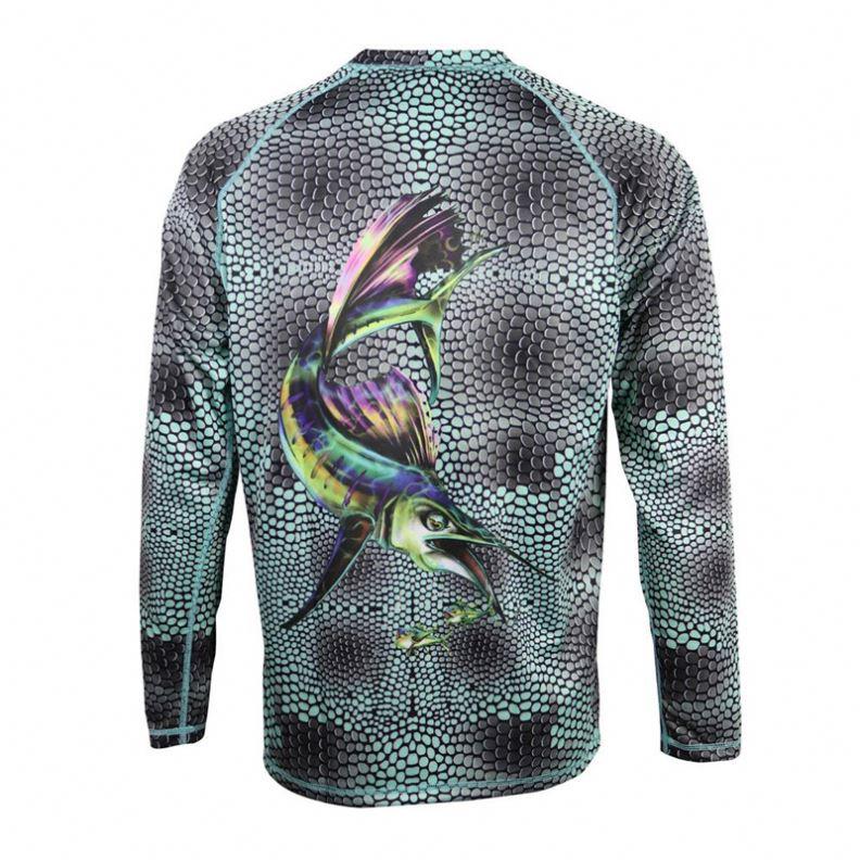 Многофункциональный дизайн, собственные рыболовные Джерси, оптовая продажа рубашек