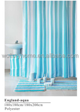 Bathroom Products Bath Set Penguin Shower Curtain With