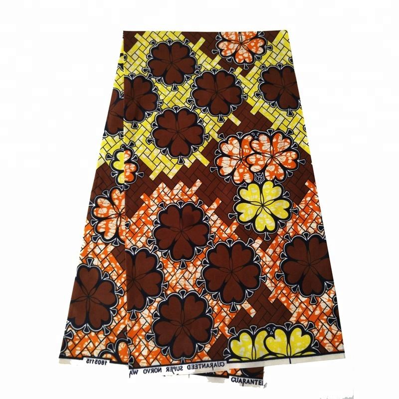 African Ankara Wax Print 100% cotton printed fabric