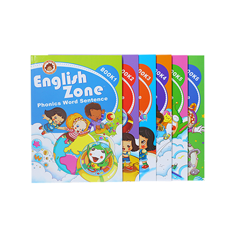 Children sound book & reading pen kids touch english talking pen
