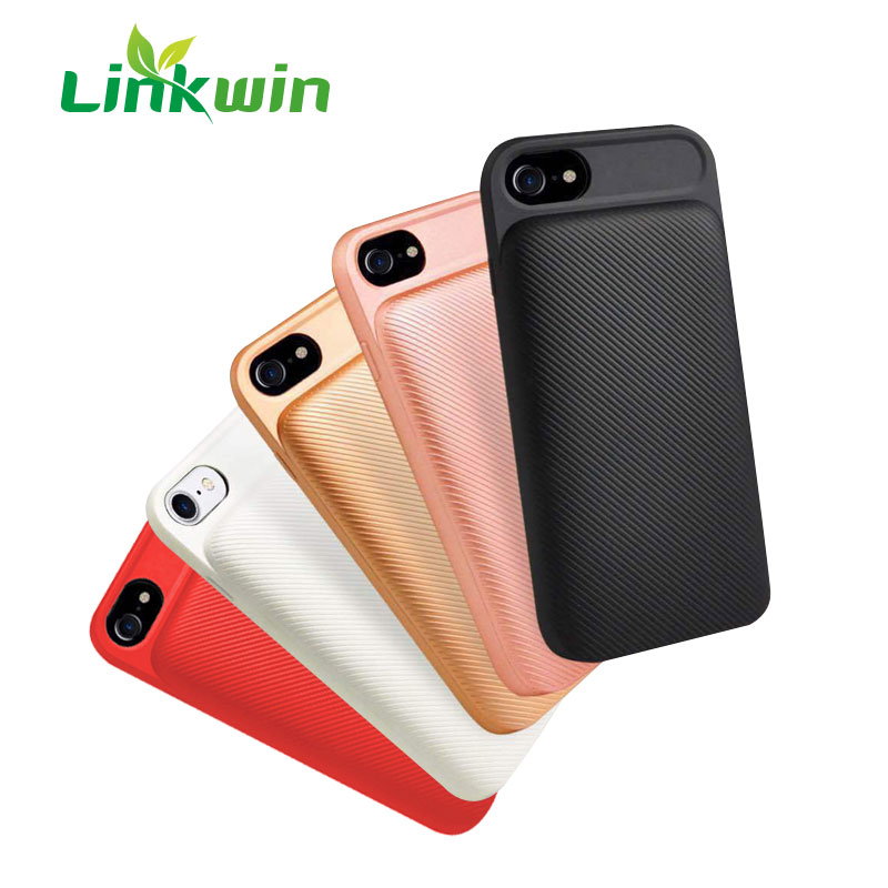 2020 Trending Products Phone Back Cover Charger For Iphone 8/plus Wireless Battery Case