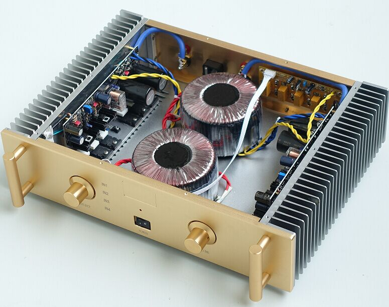 buy breeze audio deluxe hi fi a2 original circuit power amplifier amplifiers. Black Bedroom Furniture Sets. Home Design Ideas