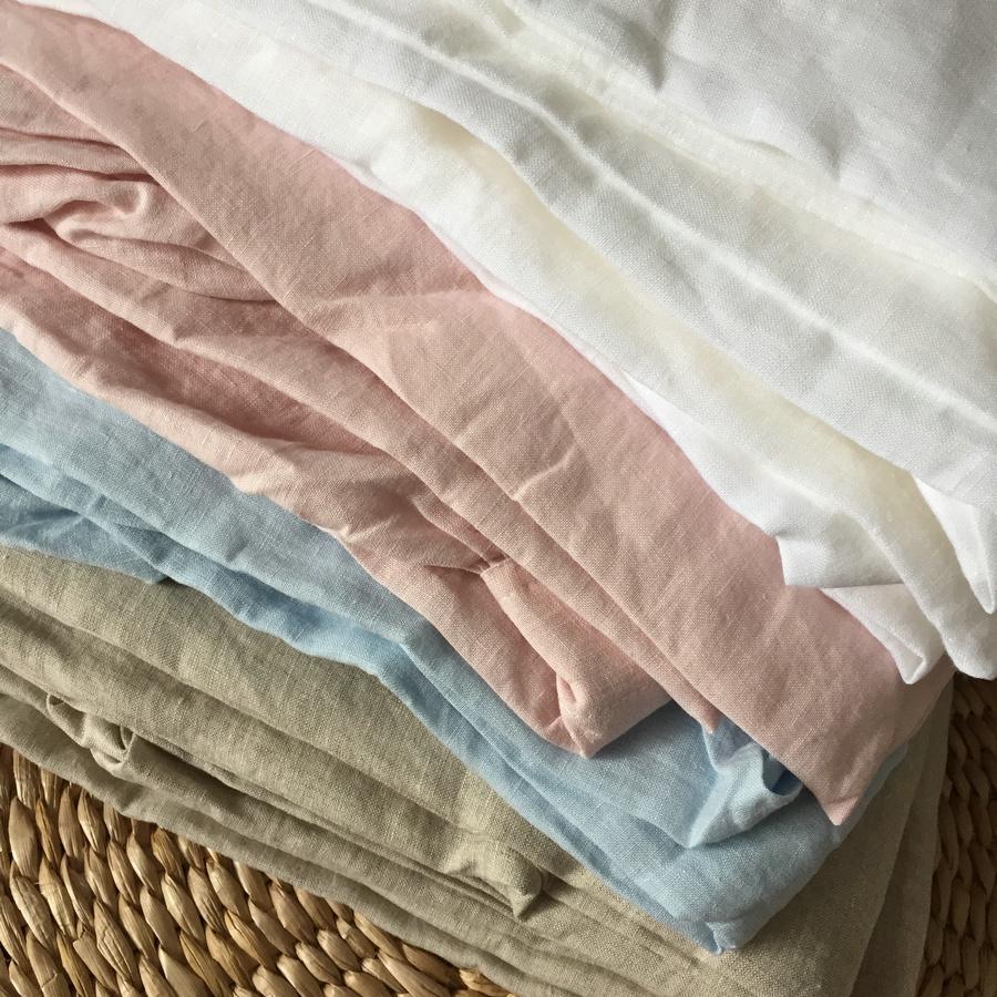 Multicolor 100% Linen fabric use linen dress garment