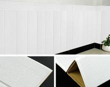 3D Самоклеящиеся Настенные обои Woodr Grain, мягкая посылка, Украшение стен детского сада, водонепроницаемая настенная наклейка из пены(Китай)