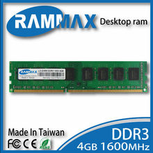Desktop  Ram 1x4GB Memory DDR3 LO-DIMM1600Mhz PC3-12800 240-pin/ CL11 high compatible motherboard for PC Computer+Free Shipping