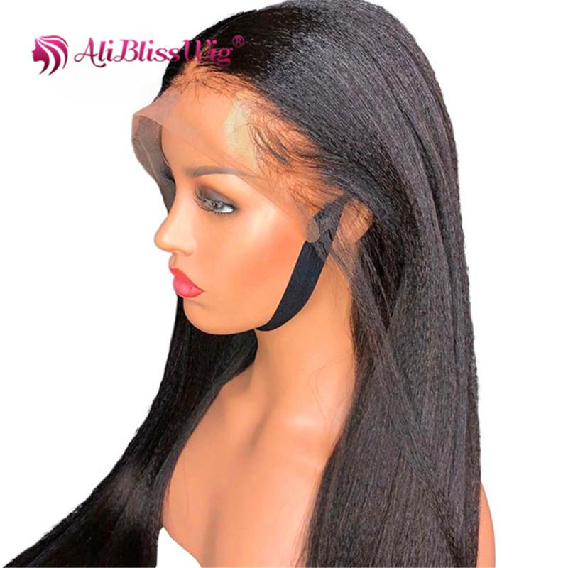 Wig Rambut Manusia Perawan Terang Yaki Warna Hitam Kutikula Selaras Buy Wig Rambut Wig Untuk Wanita Hitam Renda Wig 100 Perawan Rambut Manusia Product On Alibaba Com