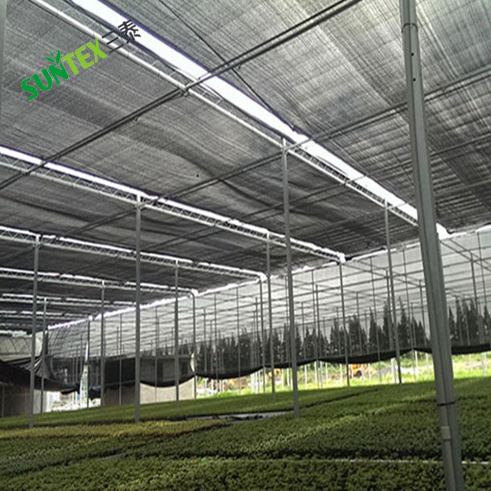 Китайская фабрика предлагает высококачественную теневую сетку HDPE для теплиц/затеняющую сетку/полипропиленовую вязанную сетку