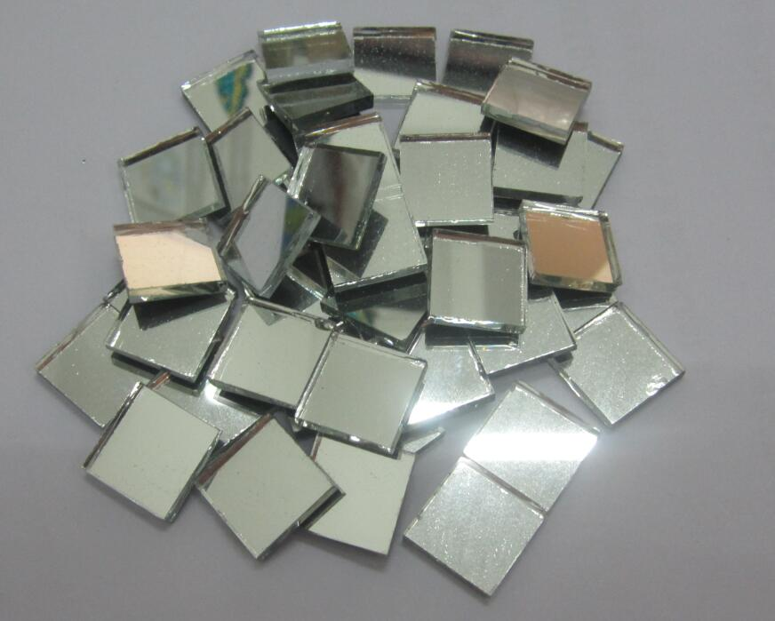 Square shape mirror glass mosaic tile mosaic craft tiles