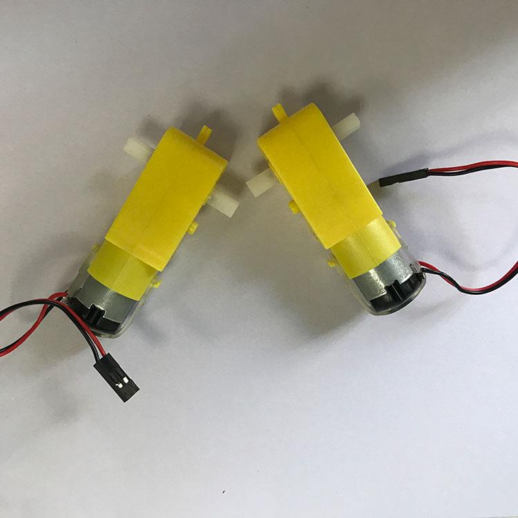 Зубчатый двигатель постоянного тока для образовательных роботов
