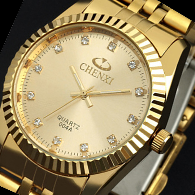 2015 Top marque de luxe Chenxi montres Homme en acier