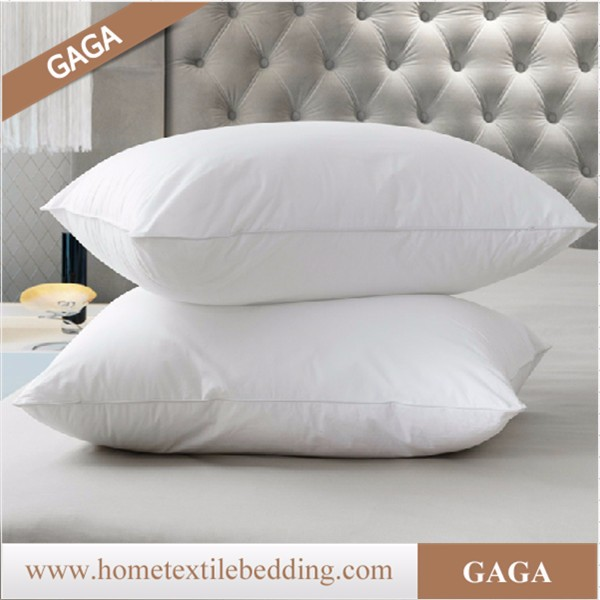 comfort white down feather pillow/hot sale down feather pillow/hotel down feather pillow
