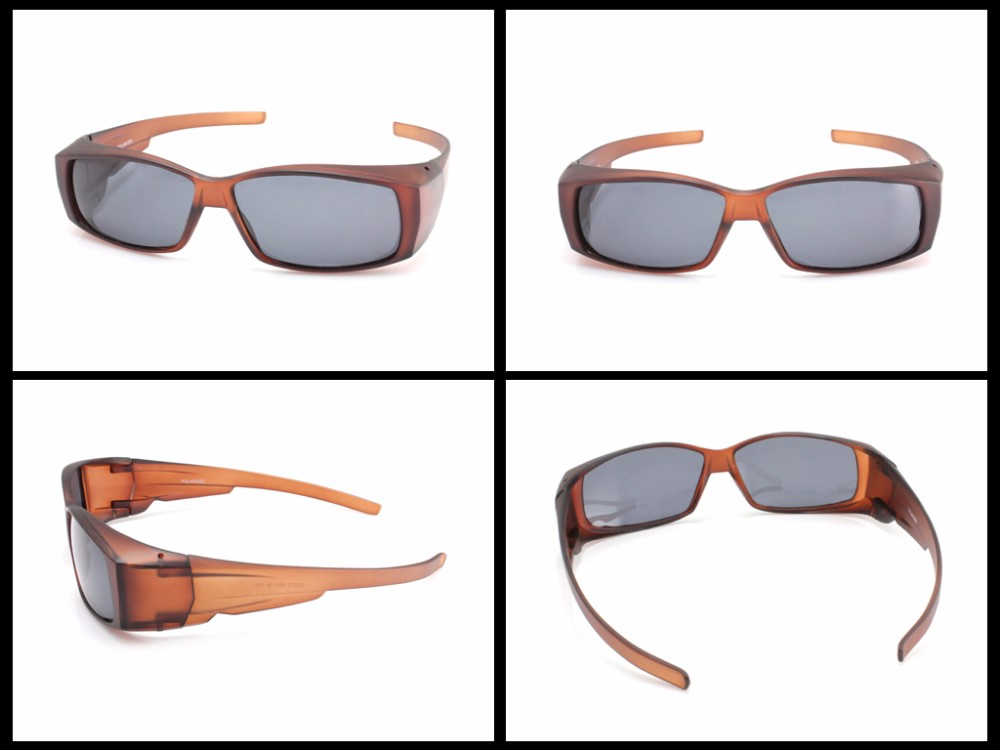 468e6cf4de PANLEES UV protective polarized lens fit over covers wear over ...