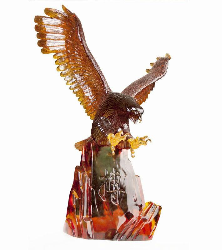 Hand made Eagle Candle.