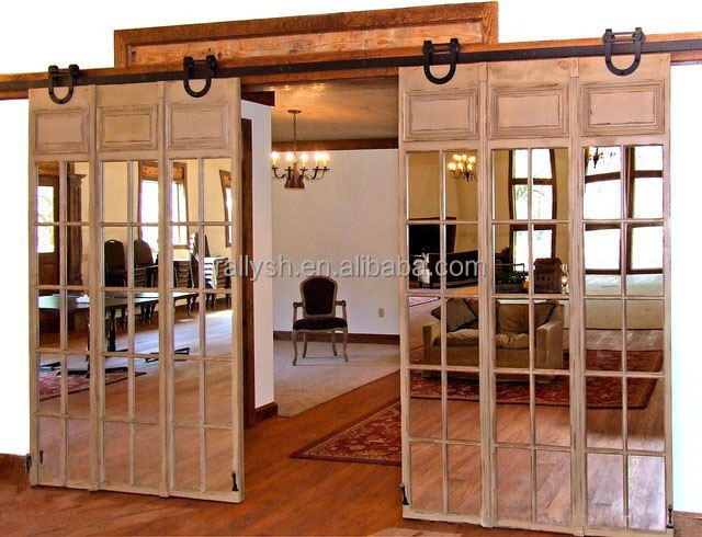 White Kitchen Carriage Gates
