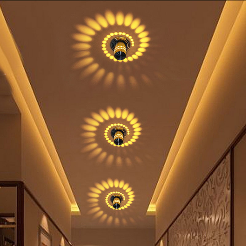 Creative Wall Light Small Led Ceiling Light For Art