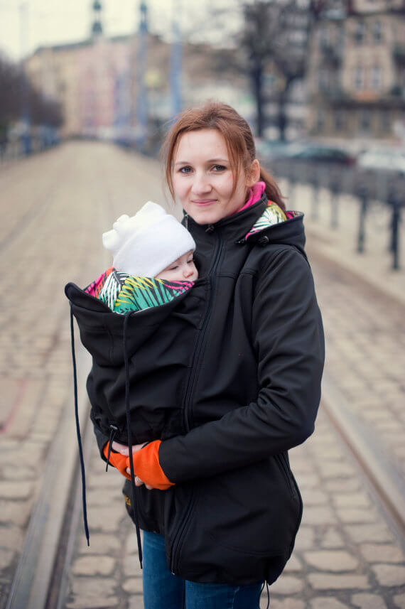 Maternity Clothes Soft shell Babywear Jacket Baby Wrap Carrier Manufacturers Direct