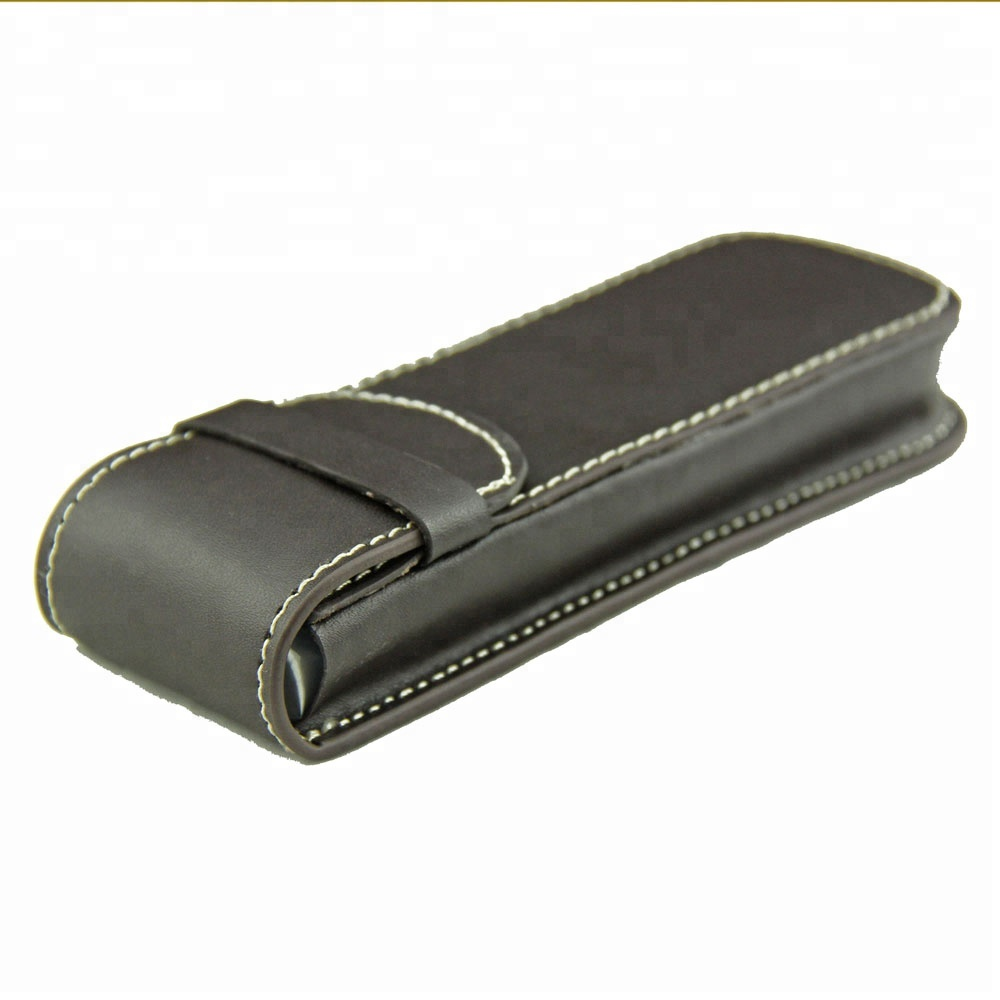2018 PU Leather Pen Pouch / Cool Pencil Case For Gift
