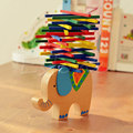 Baby Toys Educational Elephant Camel Balancing Blocks Wooden Toys Beech Wood Balance Game Montessori Blocks For