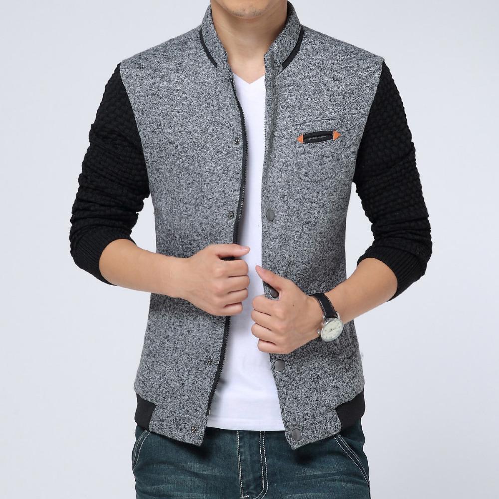 9519670cdf1ea 2015 New Spring Autumn Mens Jackets Cotton Outwear Menu0026 39 s Coats  Casual Fit