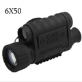 Hunting Digital Infrared 6X50 Night Vision Monocular telescope 5MP HD 350m Range For Picture Video Shooting