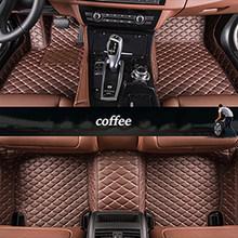 Kalaisike пользовательские автомобильные коврики для Alfa Romeo Giulia Stelvio 2017 автомобильные аксессуары авто Стайлинг(Китай)