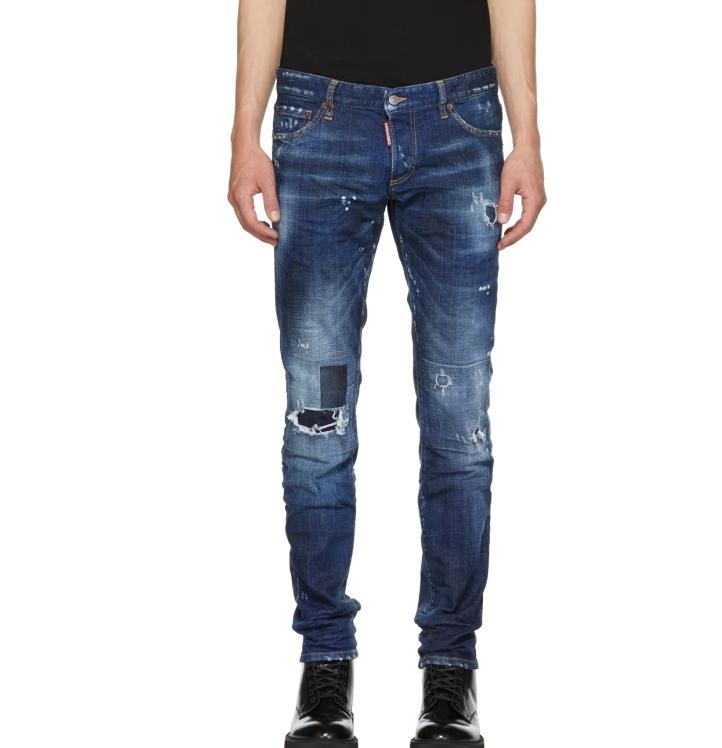 Oem Odm Blue Toppa Slim Jogging Jean Pantalones Vaqueros Rasgados Pantalones Rasgados Personalizados Para Hombre Buy Jeans Mujer Jeans Hombre Pantalones Vaqueros Para Correr Product On Alibaba Com