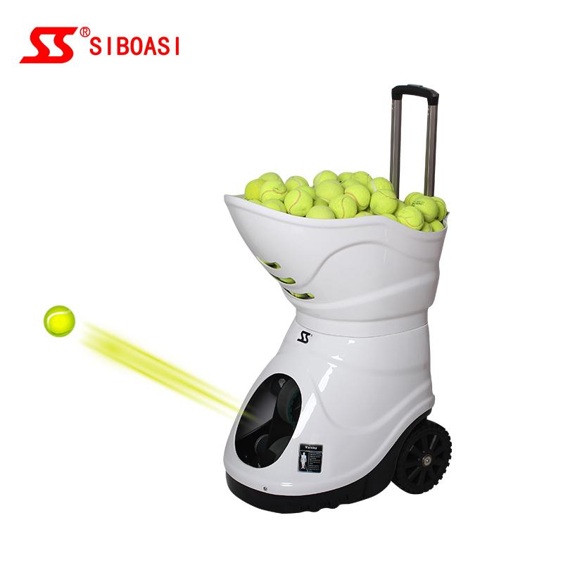 Хороший партнер, машина для тенниса SIBOASI Dongguan, машина для теннисных мячей