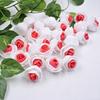 500PCSดอกไม้สีแดง