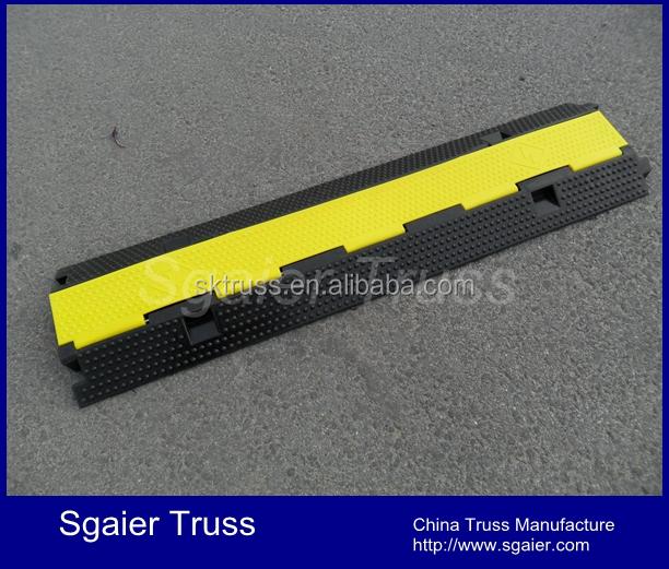 Оптовая продажа, резиновый модульный противопожарный шланг, протектор кабеля, рампа, высокая ударопрочность, 2 канала