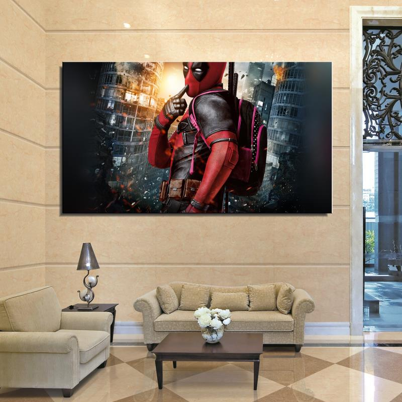 American Home Decorators: Dealpool Marvel Hero Poster Film Movie Star American Style