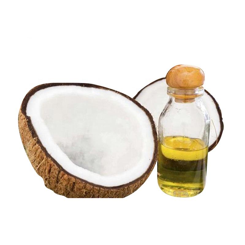 Высококачественное 100% чистое натуральное кокосовое масло для массажа отбеливания кожи