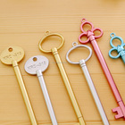 4Pcs/lot Gel Pen Set Key Kawaii School Supplies Office Stationary Photo Album Kawaii Pens School Stationery