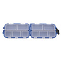 New 10 Compartments Storage Case Box Fly Fishing Lure Spoon Hook Bait Tackle Box Case Fishing