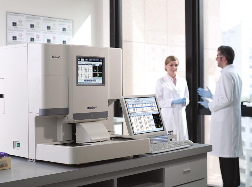 Mindray 5-Part diff BC-6800 Auto Hematology Analyzer