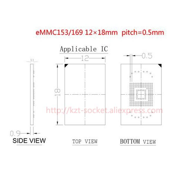 eMMC153 12X18