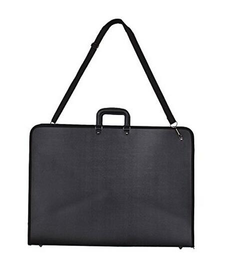 Factory wholesale PU art portfolio case professional artist painting bags