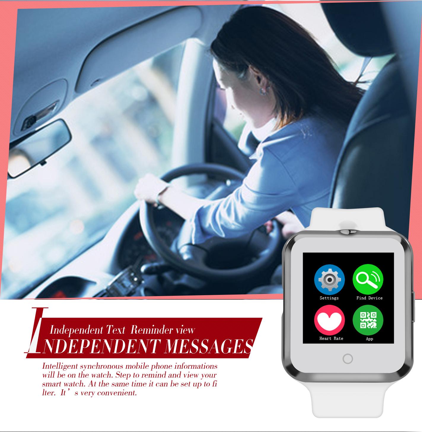 BTL Smart watch D3 MTK6261 1 22 Inch Touch Screen Bluetooth