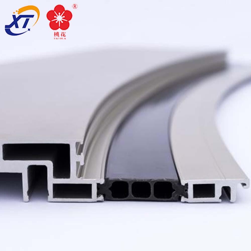6063 T5 профили для экструзии алюминия от гибочного станка для алюминиевого профиля