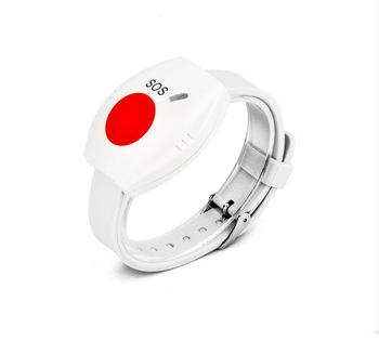 Personal alarm emergency SOS button alarm portable wristwatch wireless panic button with 433mhz