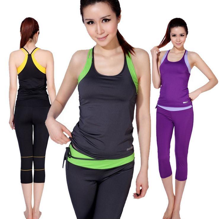 """Remember when """"fitness clothing"""" meant a pair of black leggings (maybe the same ones you wore around the house) and whatever T-shirt and sports bra you could dig out of a drawer?"""