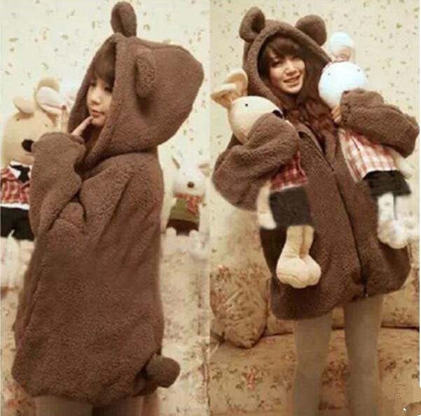 2014 new autumn and winter korea cute little bear little. Black Bedroom Furniture Sets. Home Design Ideas