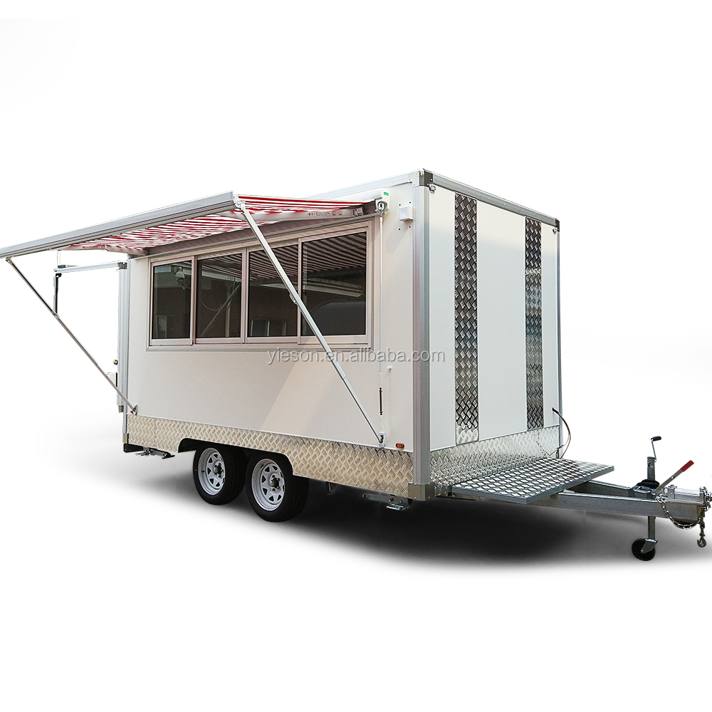 Mobile Kitchen Catering Food Trailer For Sale Buy Fast Food Mobile Kitchen Trailer Concession Food Trailer Catering Trailers For Sale Product On Alibaba Com